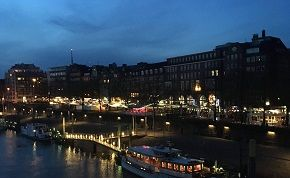 Bremen bei Nacht