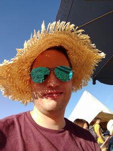Paul auf einem Festival