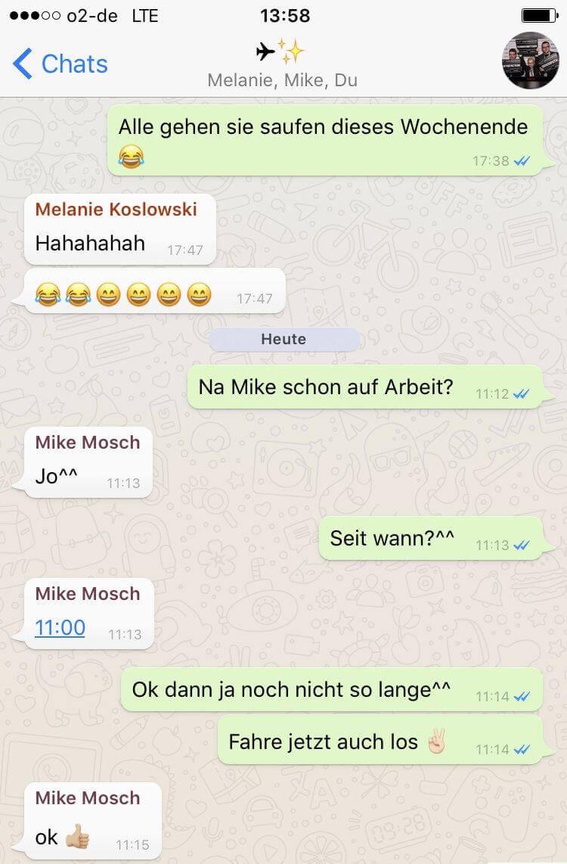 Whatsapp Verlauf
