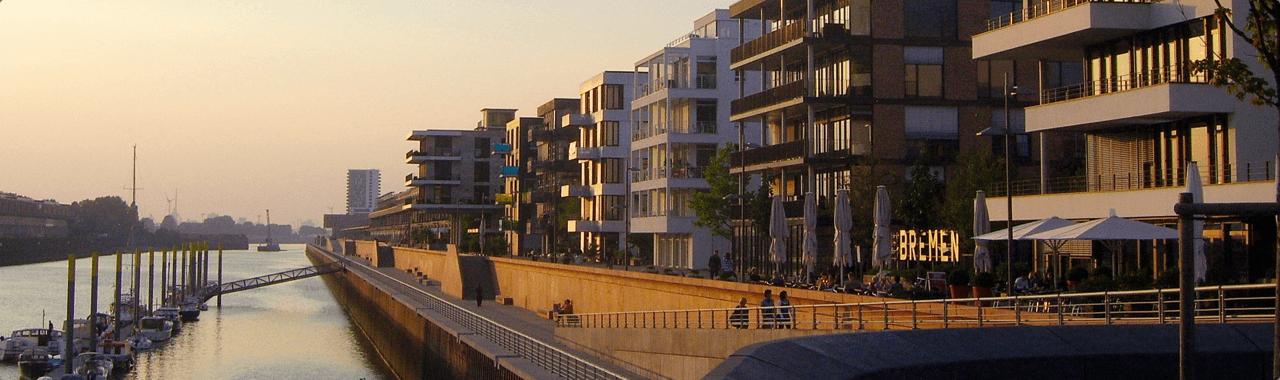 Überseestadt Bremen Titelbild