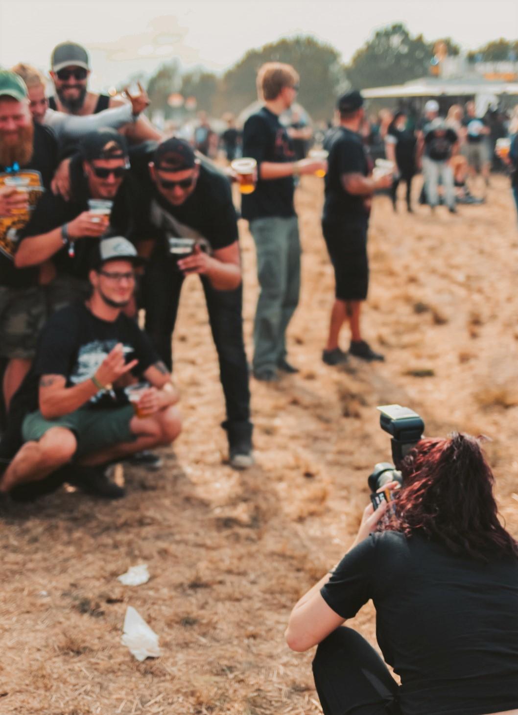 Vanessa lernten wir auf dem Festival Ferdinands Feld als Event-Fotografin kennen.