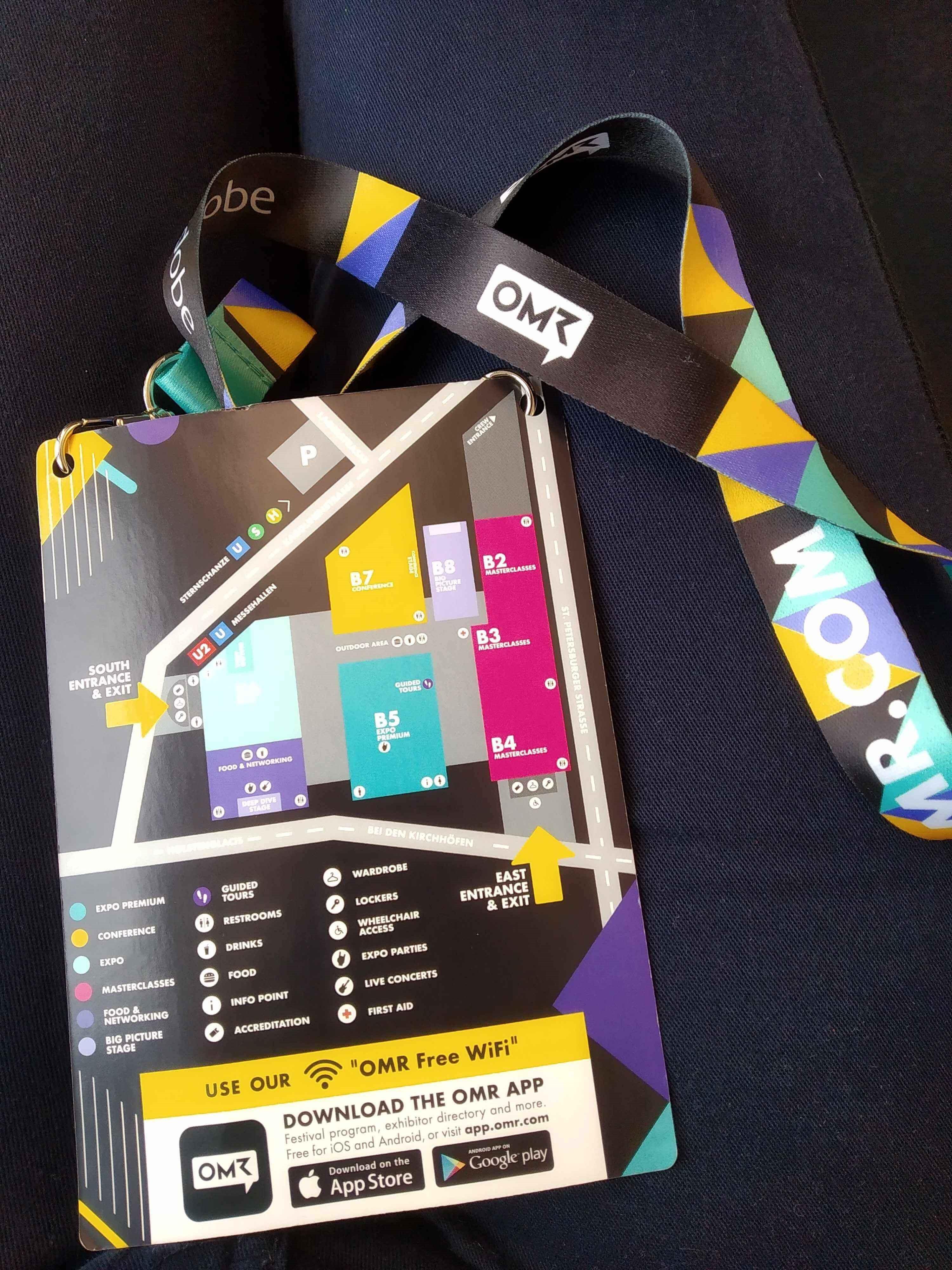 Messeplan OMR Festival 2019